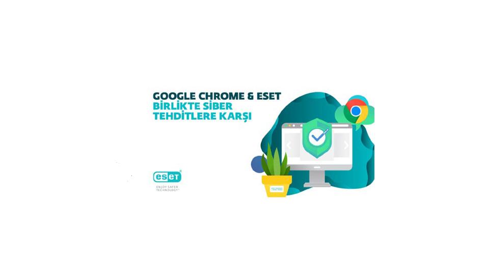 Google'ın siber güvenlikte tercihi yine ESET